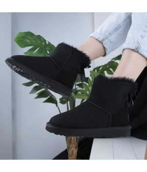 UGG Bow Black Mini