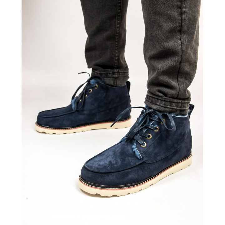 UGG Boots Suede Blue