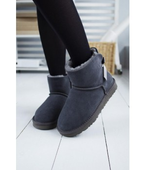 "UGG Bow Mini ""Gray"""
