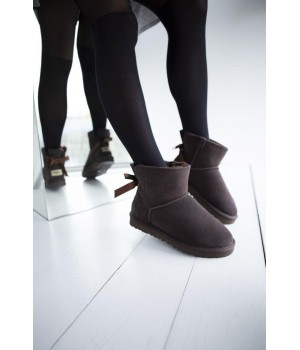 "UGG Bow Mini ""Brown"""
