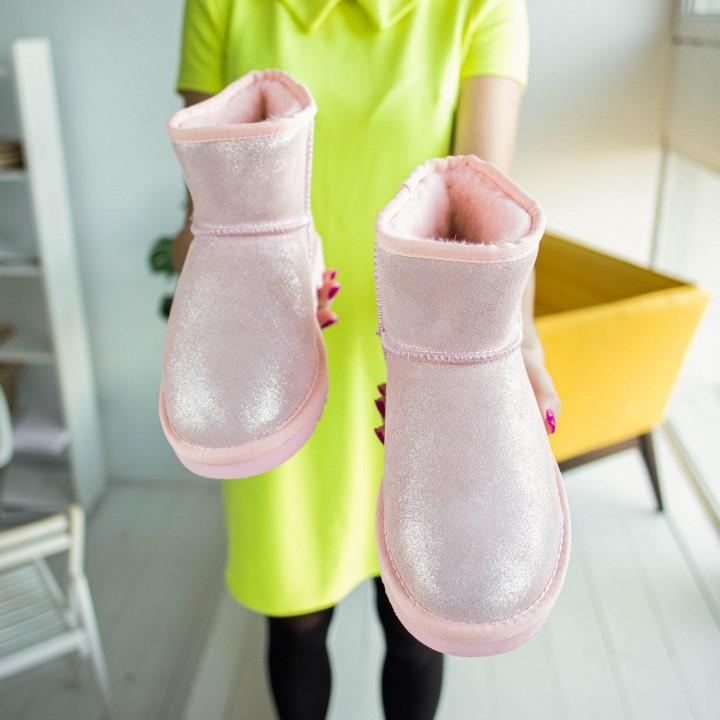 """UGG Varnished Mini """"Pink"""""""