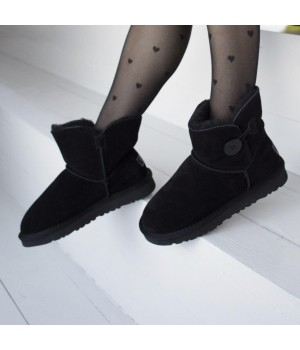 Ugg Australia Mini Bailey Button Black