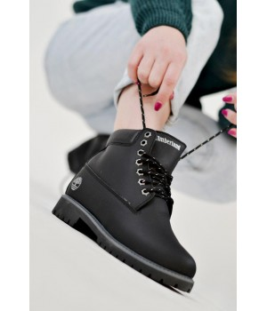 Timberland Leather Black