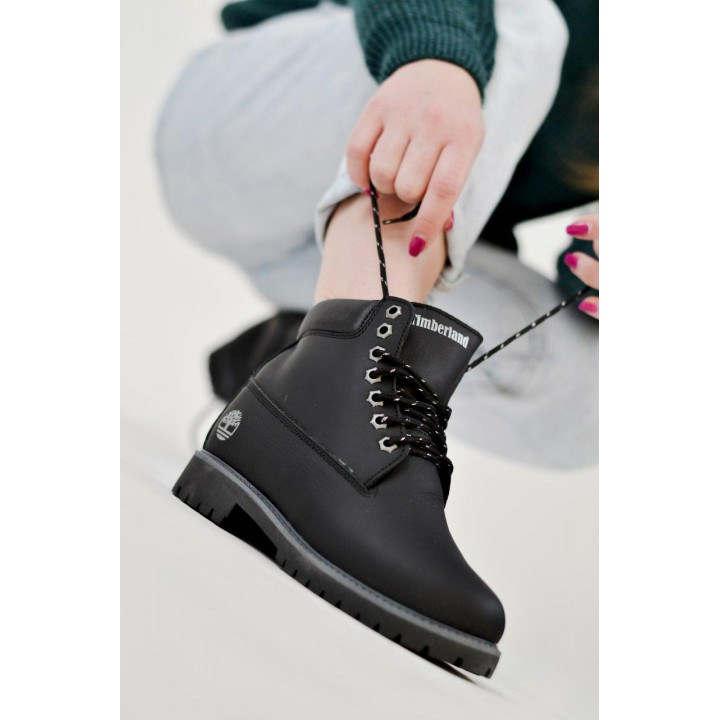 Timberland Leather Black