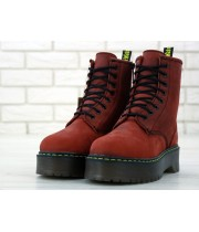 Dr. Martens Jadon Bordo high Fur