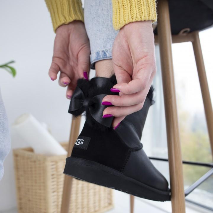 Ugg Bailey Bow Leather Mini