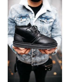 UGG Neumel Leather Black