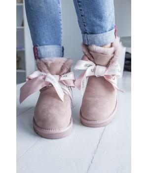 UGG Bow Pink Mini