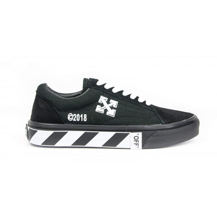 Кроссовки Vans Black/White