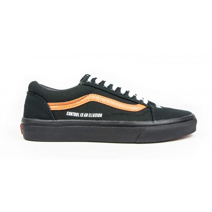 Кроссовки Vans Black/Orange