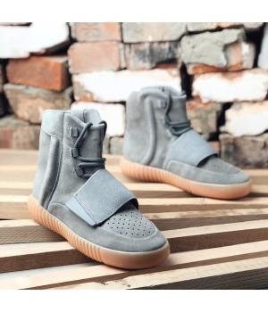Мужские кроссовки Adidas Yeezy 750 Grey Gum