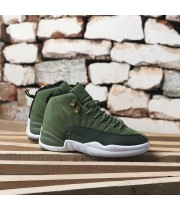 Мужские кроссовки Nike Air Jordan 12 Cargo Khaki