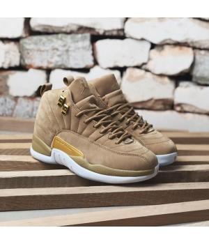 Мужские кроссовки Nike Air Jordan 12 Tan