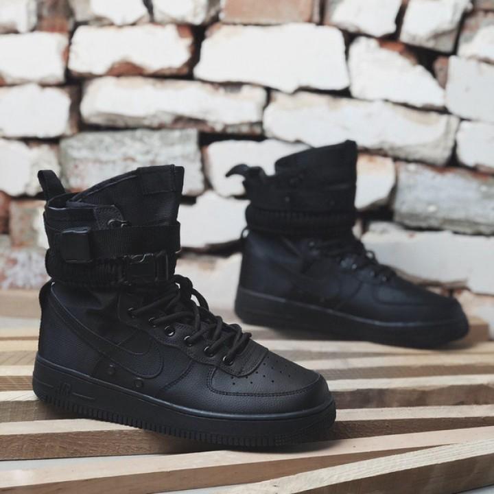 Мужские кроссовки Nike SF Air Force 1 Black