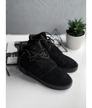 "Мужские кроссовки Adidas Tubular Invader Strap ""Core Black"""