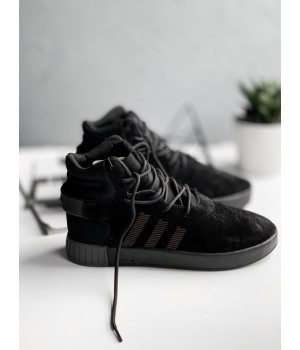 Мужские кроссовки Adidas Tubular Invader Triple Black