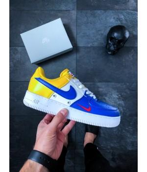 Мужские кроссовки Nike Air Force 1 '07 LV8 (Deep Royal Blue)