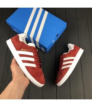 Мужские кроссовки Adidas Gazelle Red