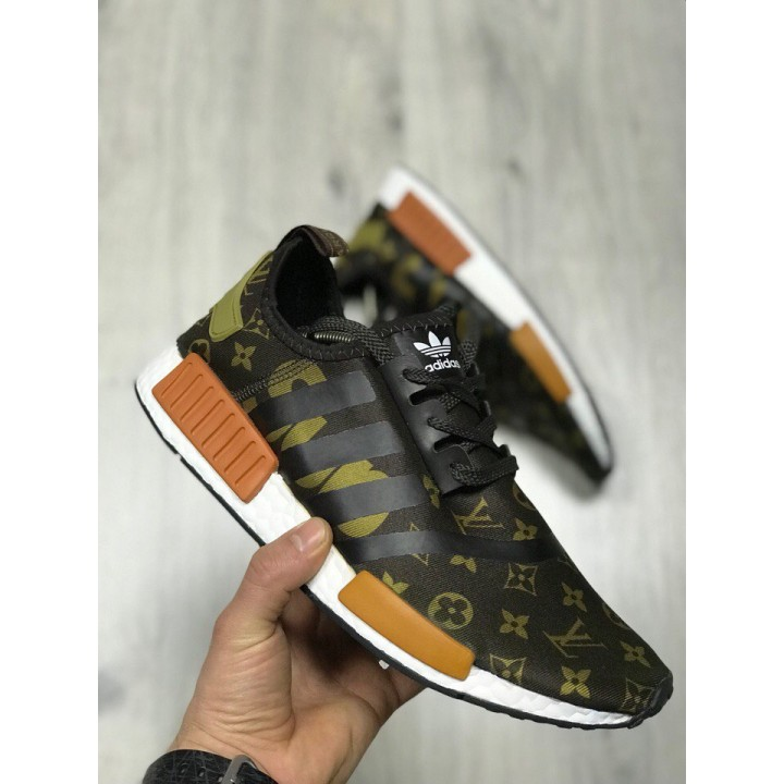 Мужские кроссовки Adidas NMD Supreme x Louis Vuitton