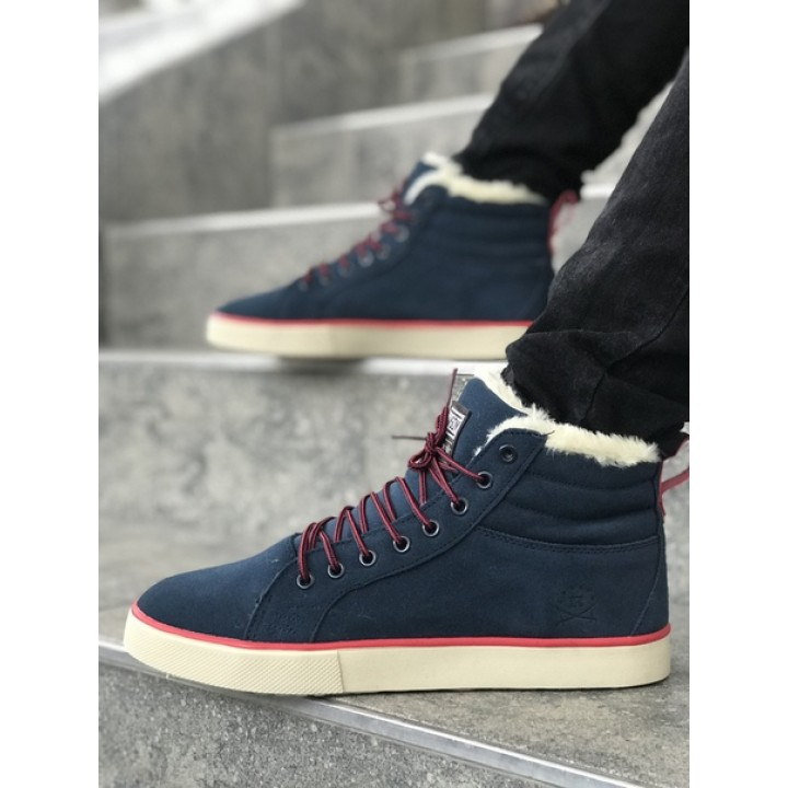 Мужские кроссовки Adidas Adidas Ransom Fur Dark Blue