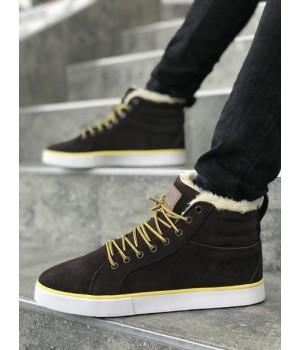 Мужские кроссовки Adidas Adidas Ransom Fur Brown