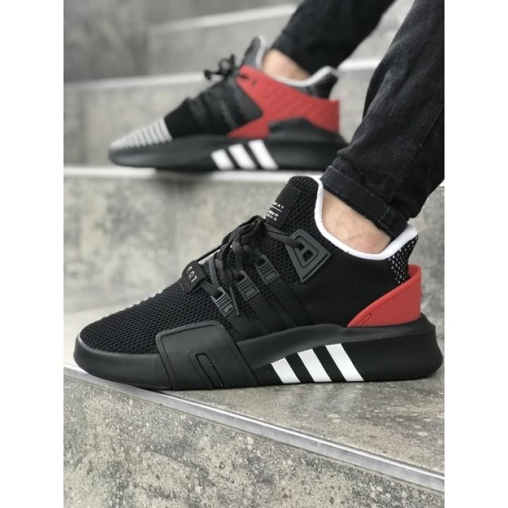 Мужские кроссовки Adidas EQT Black/Red