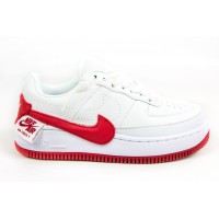 Кроссовки женские Nike Air Force 1 Jester XX White/Red