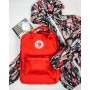 Рюкзак Fjallraven Kanken Red