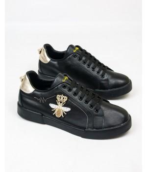 Кеды мужские Dolce&Gabbana Black/Gold