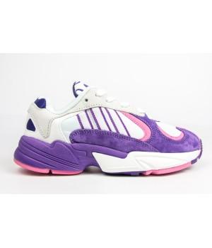 Кроссовки Adidas  Adi Yung 1 PURPLE/WHITE