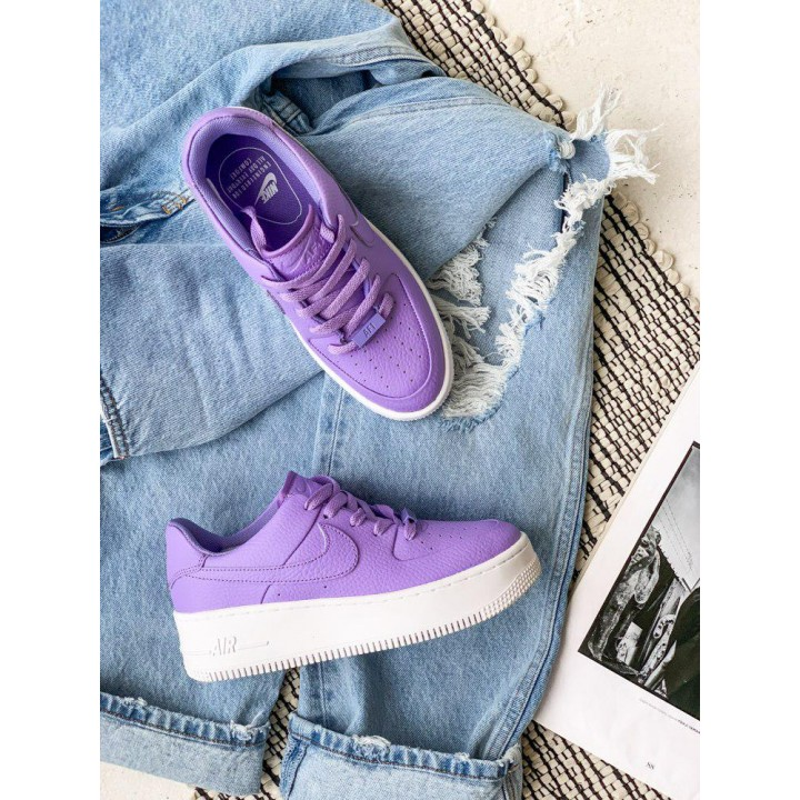 КРОССОВКИ NIKE AIR FORCE PURPLE