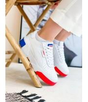 КРОССОВКИ PUMA CALI WHITE/BLACK/RED