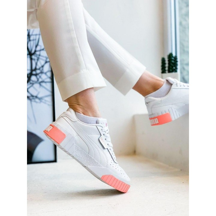 КРОССОВКИ PUMA CALI WHITE/PEACH