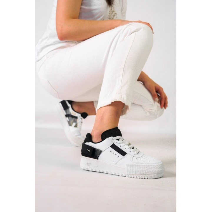 NIKE AIR FORCE 1 TYPE N.354 WHITE/BLACK