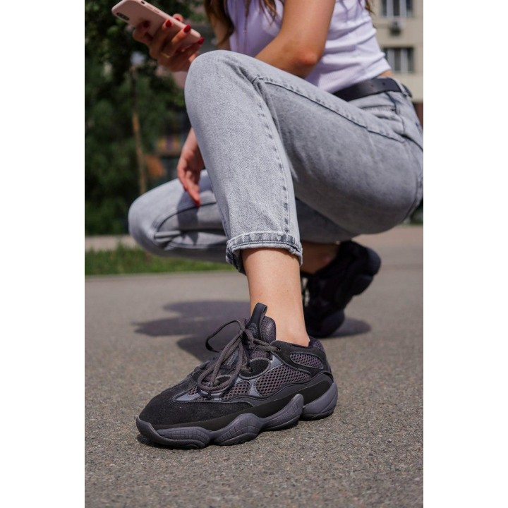 КРОССОВКИ ADIDAS YEEZY BOOST 500 BLACK