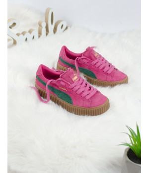 Кроссовки Puma Creeper Rihanna Pink/Green