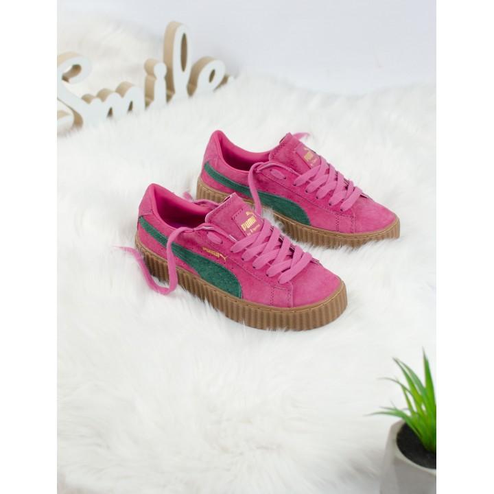 Кроссовки Puma Creeper Rihanna Pink/Green