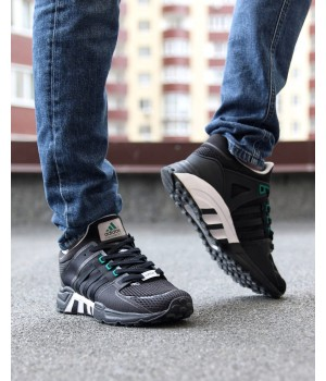 Мужские кроссовки Adidas  Equipment Running Support 93 Black/White