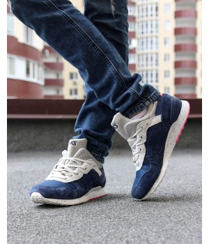 Мужские кроссовки Asics Gel Lyte 3 Blue/White