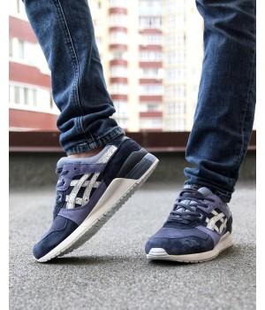 Мужские кроссовки Asics Gel lyte Blue/White
