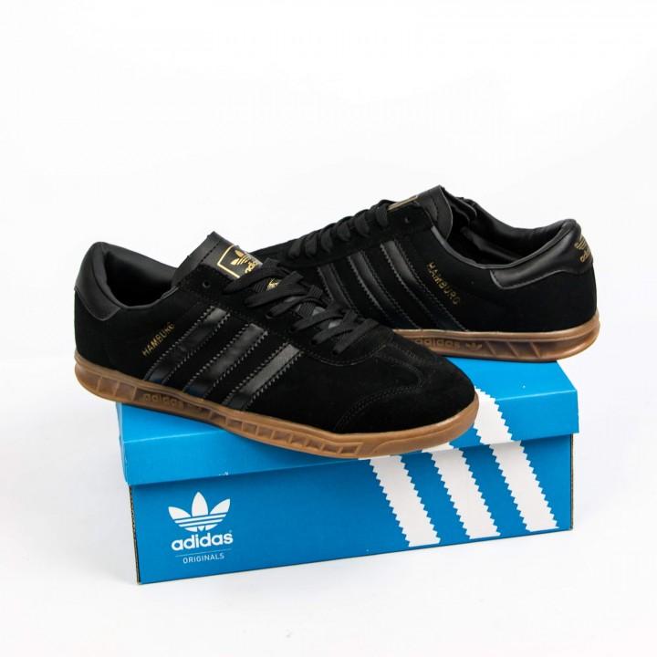 Мужские кроссовки Adidas Gazelle  Black
