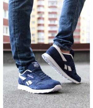 Мужские кроссовки Reebok Classic Blue/White