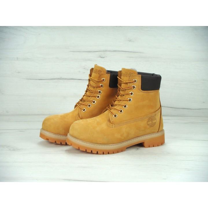 Мужские ботинки TIMBERLAND CLASSIC 6 INCH Yellow