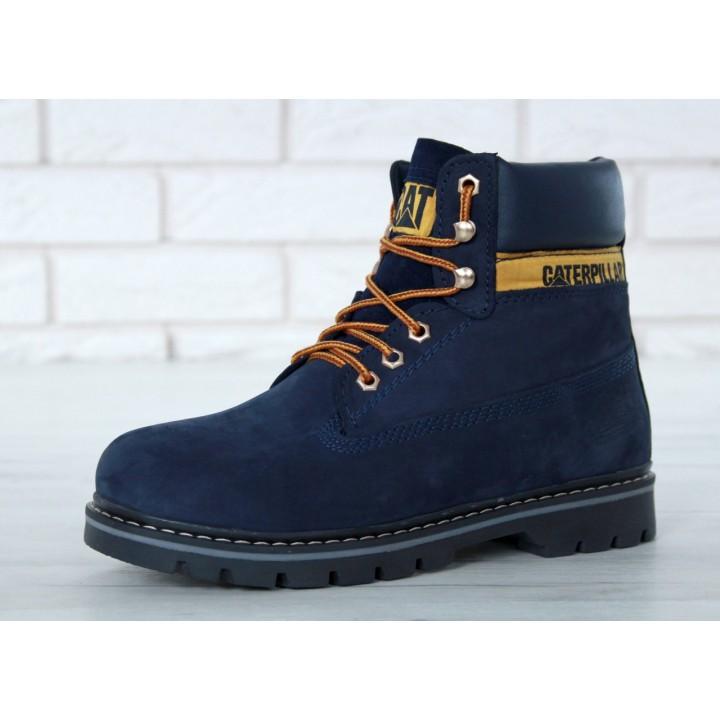 Мужские ботинки CATERPILLAR Blue