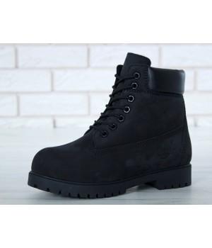 Мужские ботинки TIMBERLAND CLASSIC 6 INCH BLACK