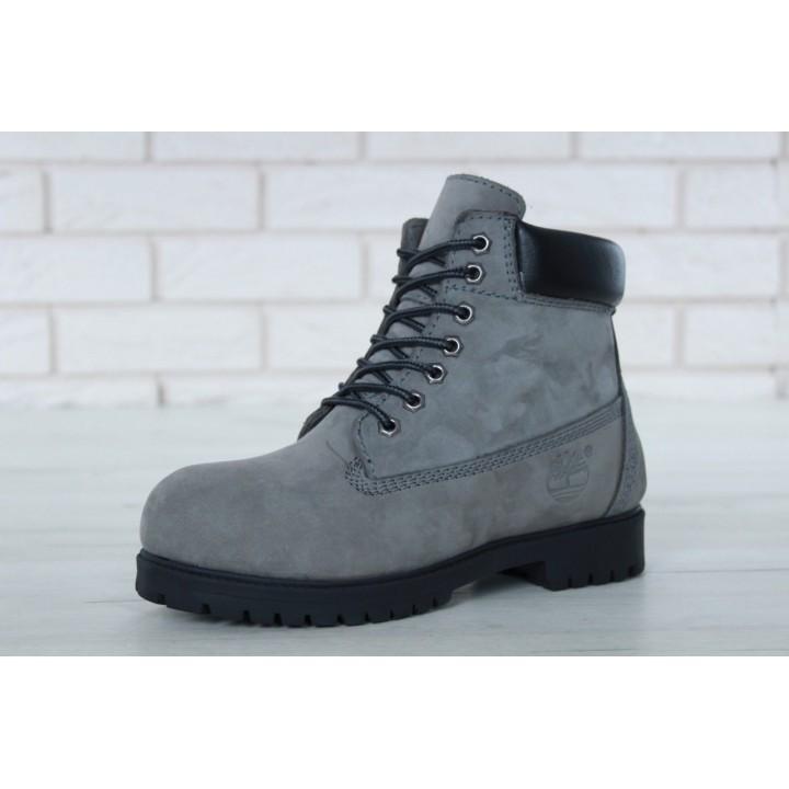 Мужские ботинки TIMBERLAND CLASSIC 6 INCH Grey