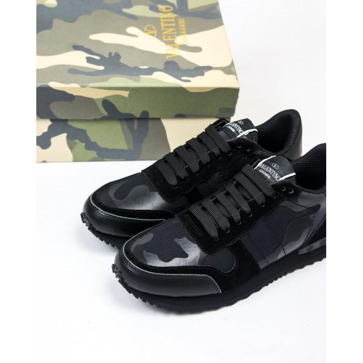 Кроссовки Valentino Rockrunner Black