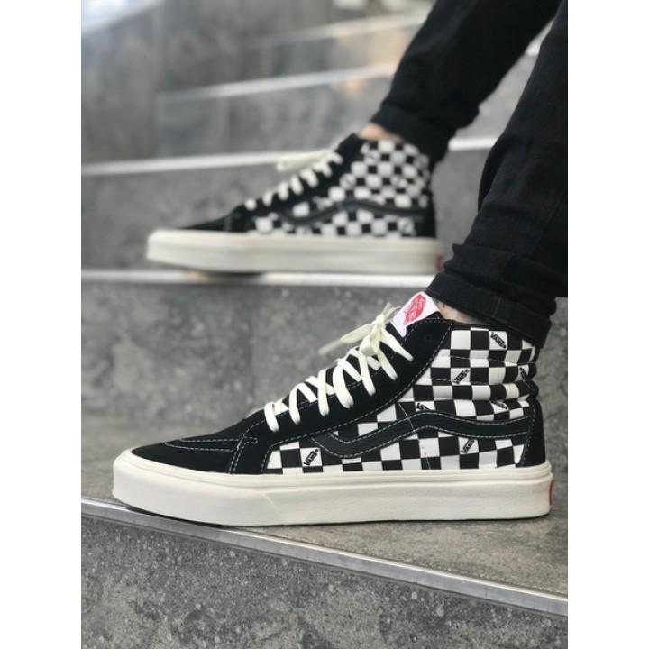 Мужские кеды Vans SK-8 Black/White